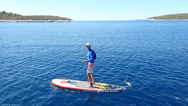 Séjour SUP à Minorque en mer des Baléares