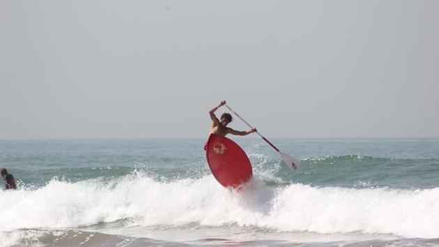 stage de paddle au Maroc