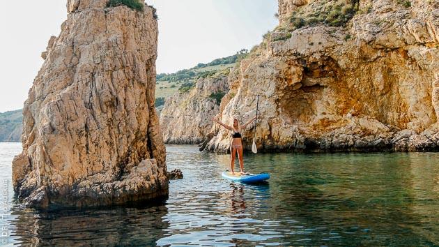 Naviguez en SUP sur les plus beaux spots de Croatie