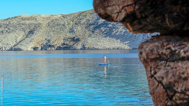 Naviguez en SUP entre les îles Dalmates