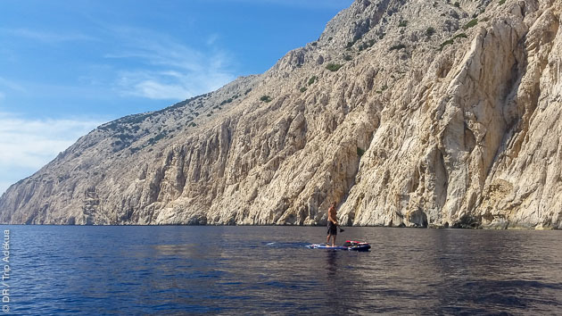 Votre croisière SUP entre la Corse et la Sardaigne
