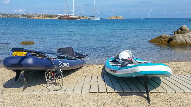 Votre séjour SUP entre Corse et Sardaigne