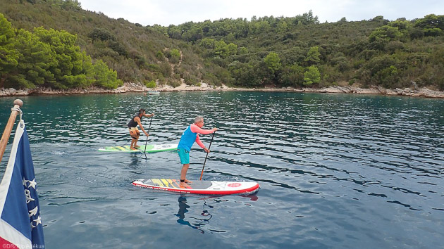 Naviguez en SUP sur les meilleurs spots de Sardaigne