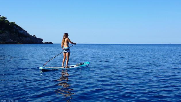 SUP, détente et découverte de la Sardaigne pendant votre croisière