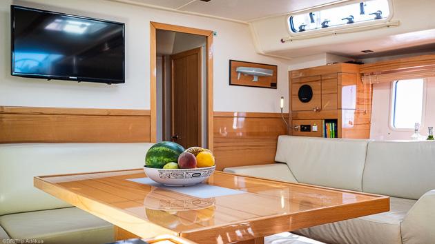 Une croisière sur notre voilier tout confort en mer des Baléares