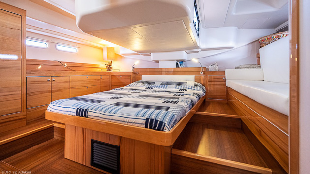 Notre voilier tout confort pour votre croisière de rêve aux Baléares