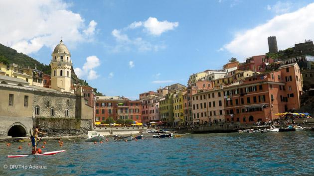 sejour sup en italie aux envrirons de Cinque Terre
