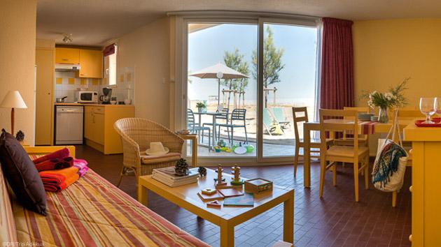 Votre appartement confortable à Gruissan pour votre séjour SUP