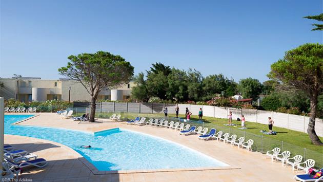 Une résidence avec piscine à deux pas de la mer à Gruissan