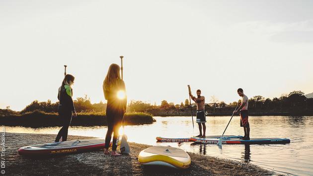 découverte pour tous du stand up paddle près de Porto