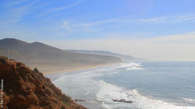 Autour d'Agadir, vous sélectionnez les plus belles vagues pour vos sessions paddle