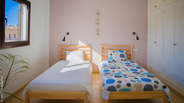 surf camp et chambre à corrralejo