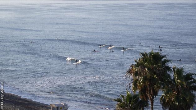 stage de surf paddle en Californie