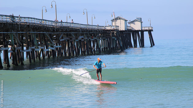 Votre hébergement est proche des spots pour profiter au max de ce séjour stand up paddle en Californie