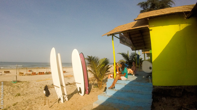 le club et centre de Stand up Paddle board à Goa