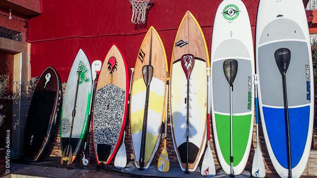 Le matériel de stand up paddle de qualité pour votre stage à Taghazout