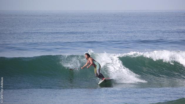 Des vagues parfaites pour le SUP surf